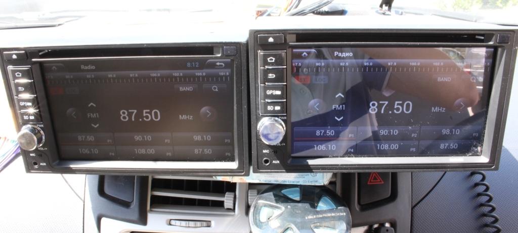 Сравнение экранов универсальных автомагнитол на Anroid - 4 : интернет магазин автозвука и аксессуаров kSize.ru
