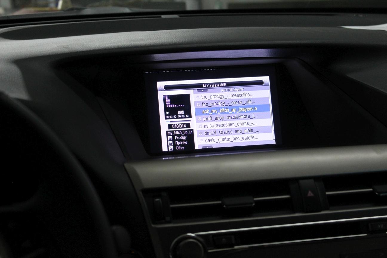 GVIF интерфейс Ksize LMKGV2F для Lexus RX 2009 - 2014 в магазине автозвука и аксессуаров kSize.ru